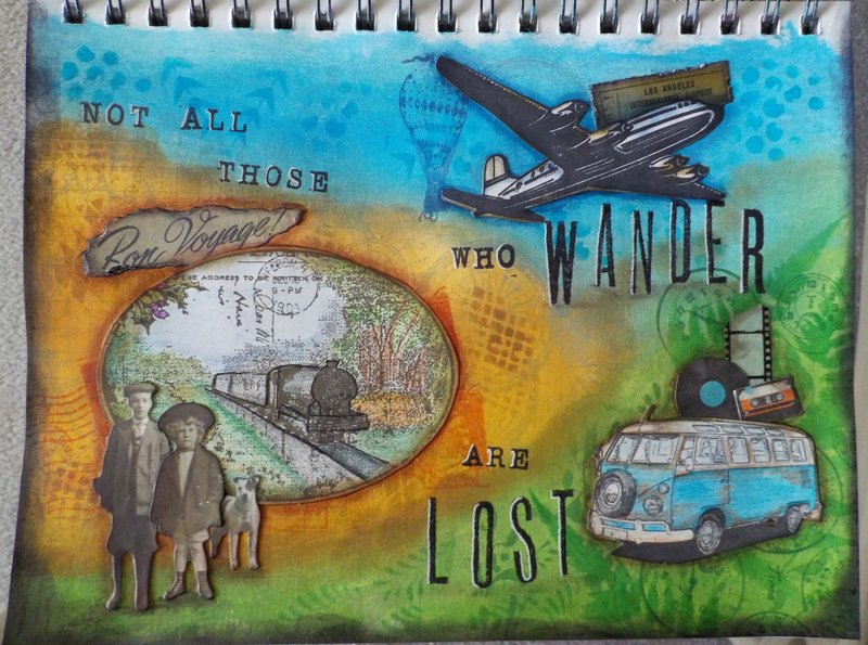 """Journal page """"Lost"""""""