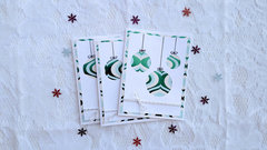 Christmas in July Ornament Cards