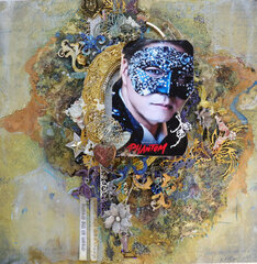 Mixed Media Baroque Style Phantom Layout by Phoebe Tonosaki