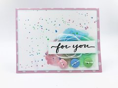 """For You"" Button Card"
