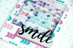 SMILE Shaker Card