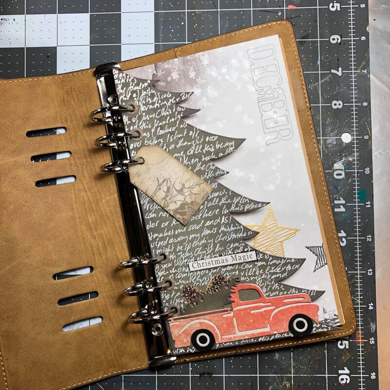 Christmas planner page