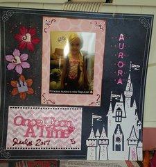 Aurora is now Princess Rapunzel