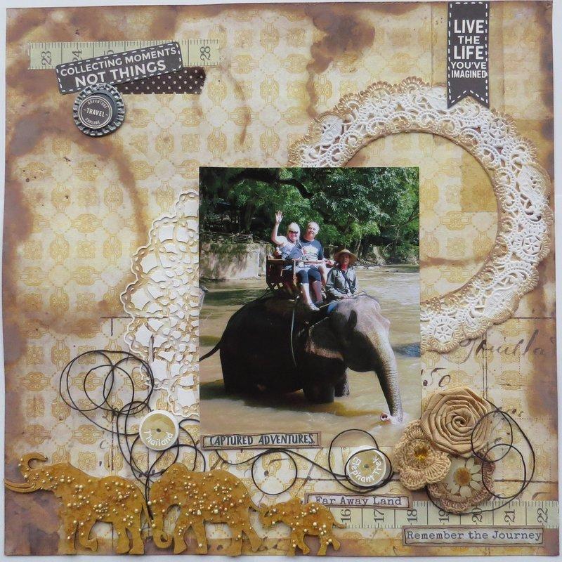 Thailand Elephant Trek