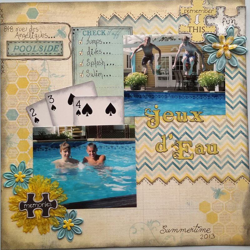 Water Games (Jeux d'Eau)