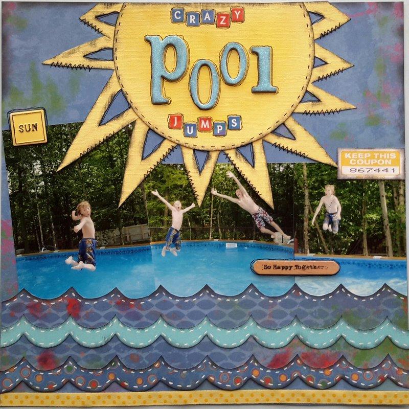 Crazy Pool Jumps
