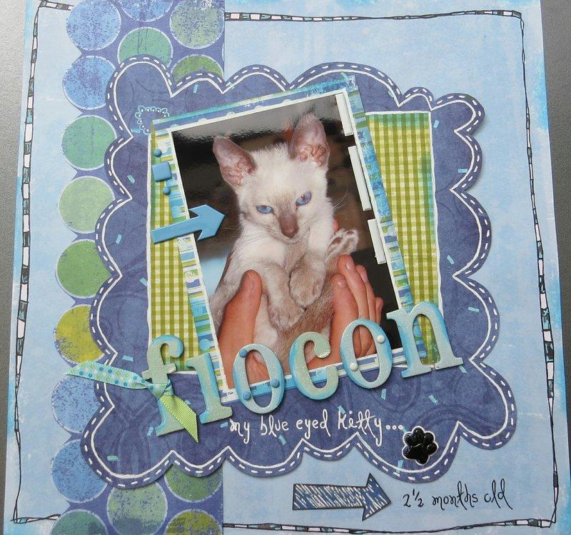 Flocon My Blue Eyed Kitty