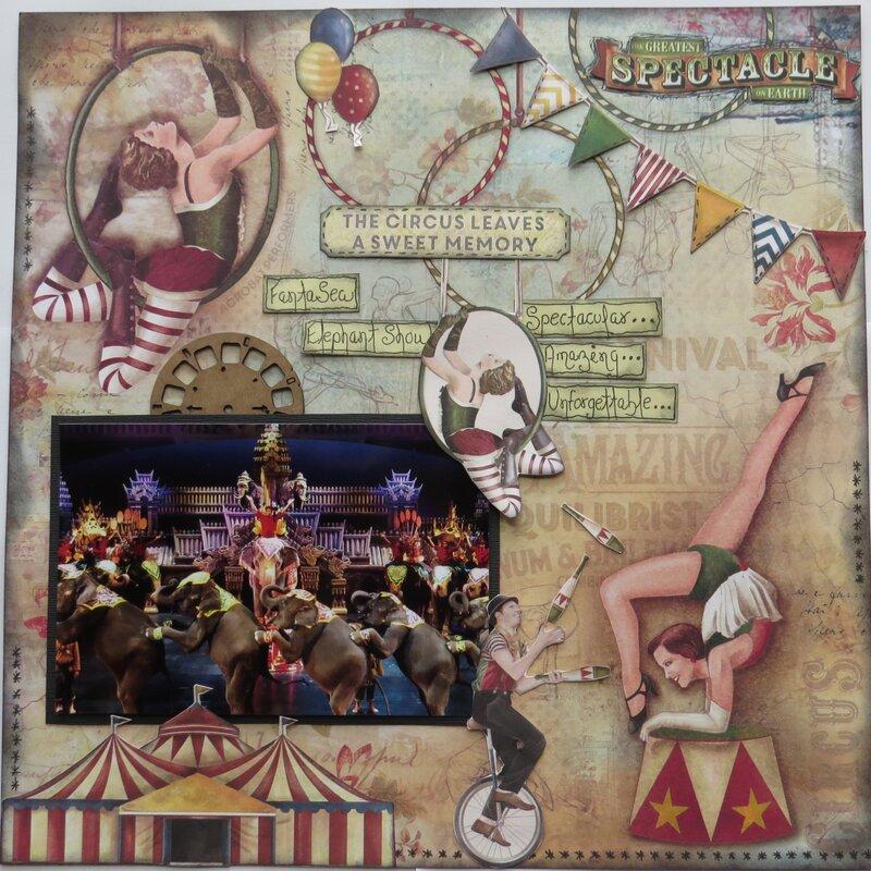 Fantasea The Circus Leaves a Sweet Memory (Thailand)