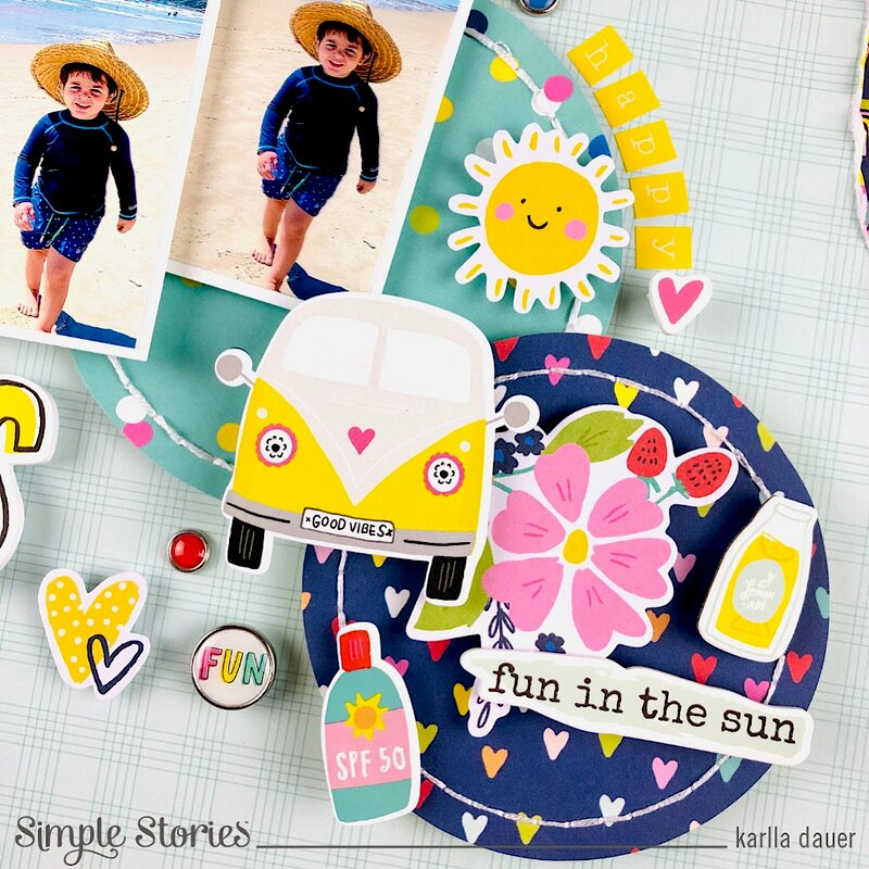 Sunkissed layout
