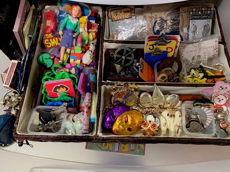 One of my organized-ish drawers. :-P