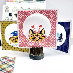 Peek-A-Boo Pet Mini Cards