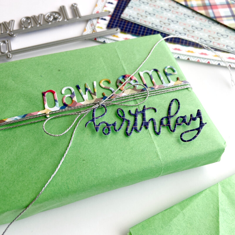 Pawsome Birthday Gift Wrapping