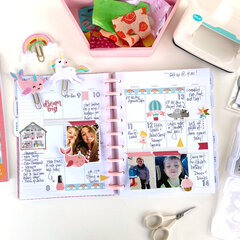 All Girl Planner Spread
