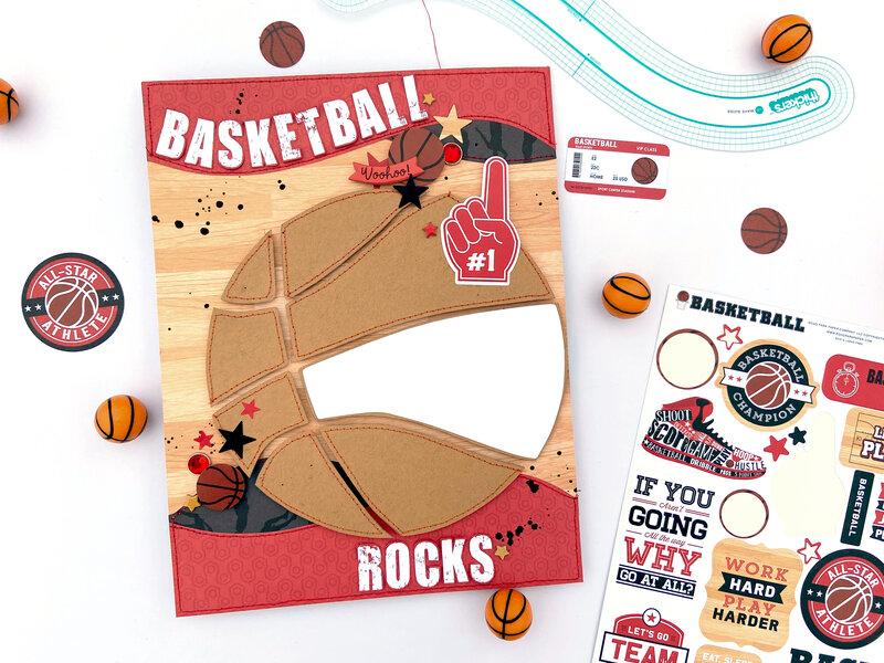 Basketball Rocks 8.5 x 11 Layout