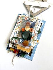 Asher's Favorite's Chipboard Frames Mini Album