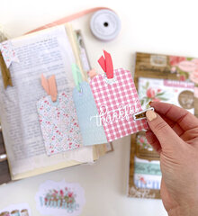 Carta Bella Farmhouse Market Altered Book