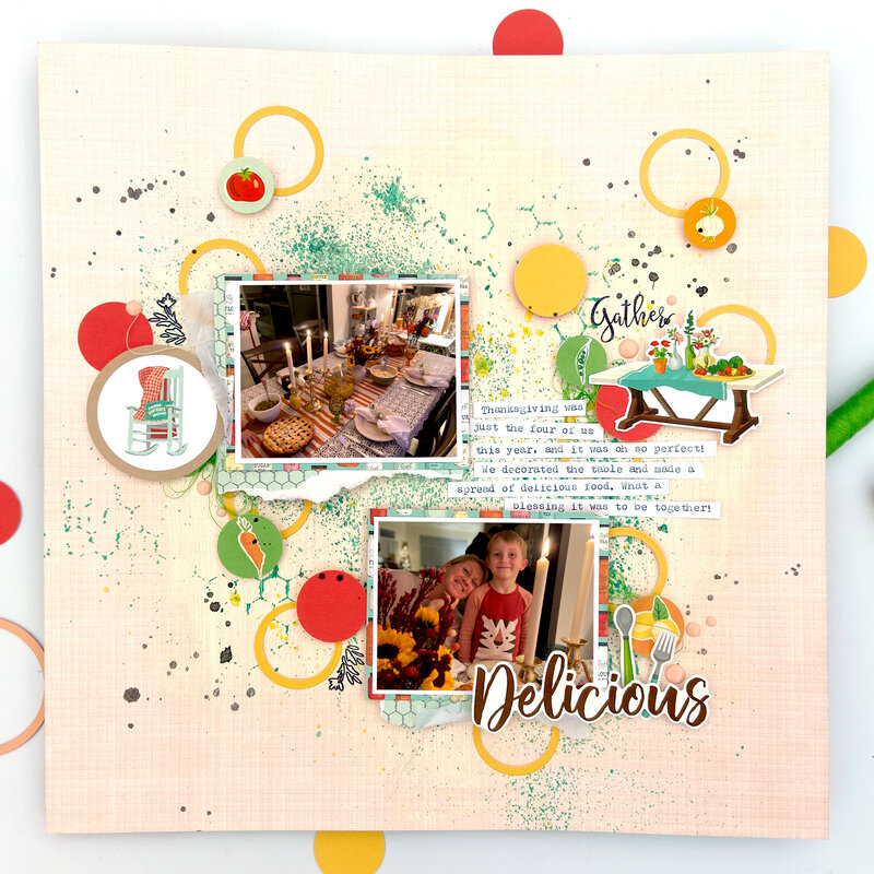 Delicious 12x12 Layout