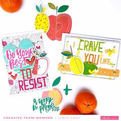 Fruit of the Spirit Valentine's Cards