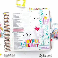 Joyful Heart Bible Journaling Page