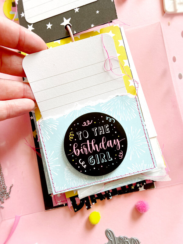 Magical Birthday Girl Mini Album