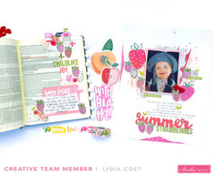 Matching Bible Journaling Page & Layout