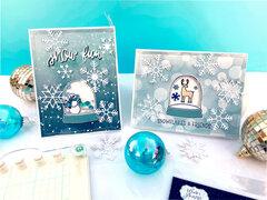 Winter Magic Interactive Cards