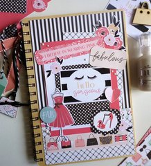 Echo park paper Fashionista Notebook