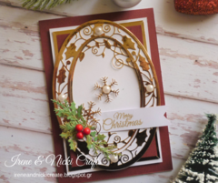 Tonic Studios| Elegant Christmas Card