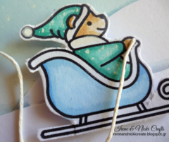 Lawn Fawn| Winter Fun Card