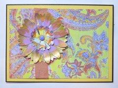 Bohemian Flower Card