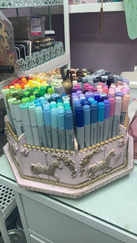 COPIC markers storage