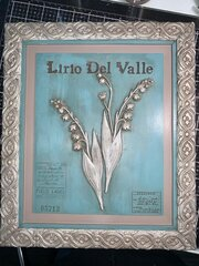 LILY OF THE VALLEY CANVAS