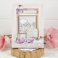 You Are my Home Shadowbox Frame