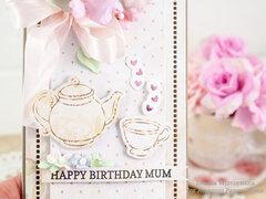 Happy Birthday Card for Mum