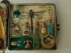 Olde Curiosity Shoppe Altered Tin