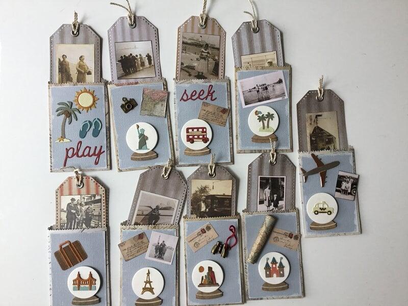 Travel memories pocket letter