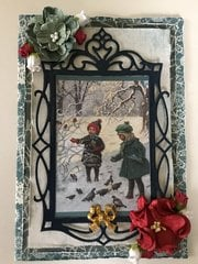 Vintage Winter card