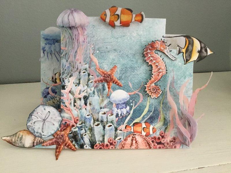 Sea Life card - 49 and Market