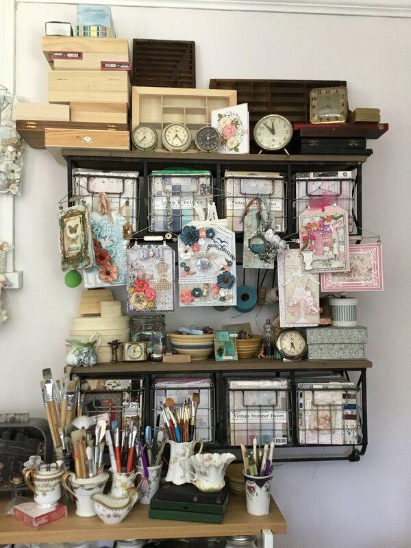 Pam's craft room