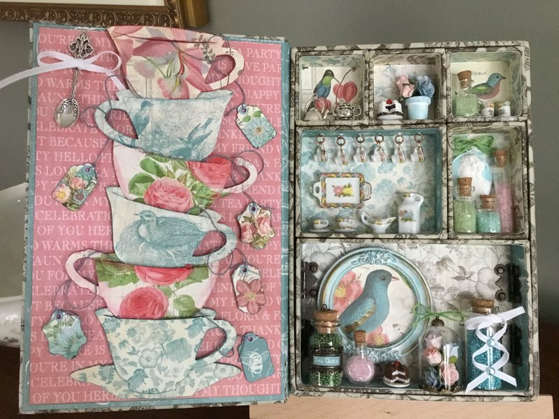 Botanical Tea Configurations book