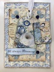 Be always blooming card