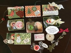Matchbox Christmas gift tags