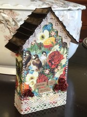 Tiny house card/tag/ornament.