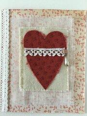 Fabric Valentine- last one