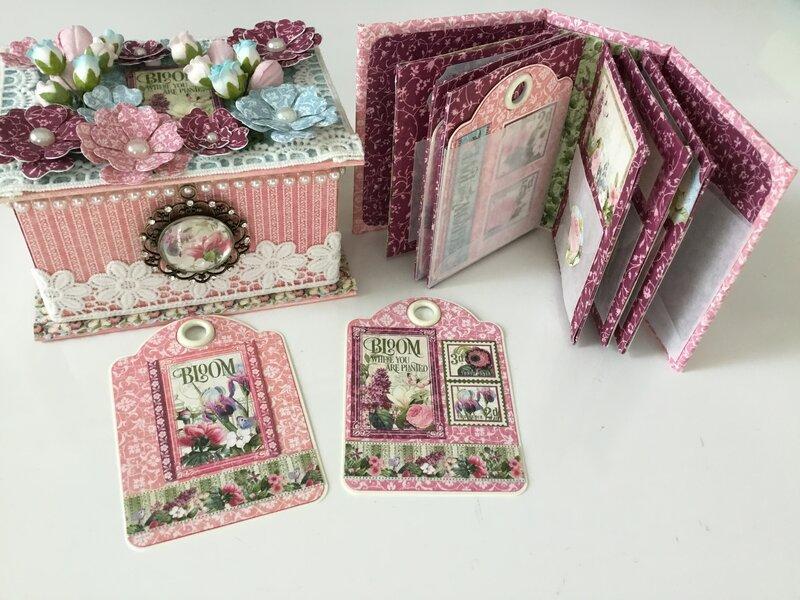 Tiny ATC-size Garden Journal Album