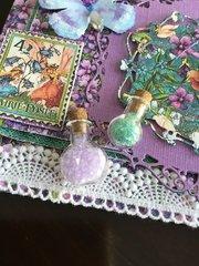Fairie Dust card