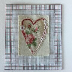Vintage Valentine for a dear friend