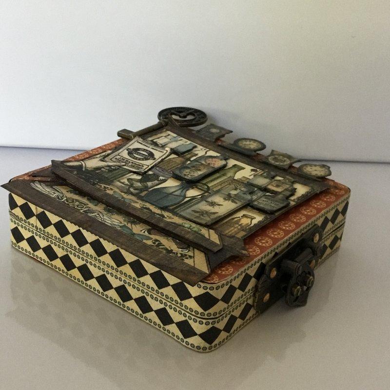 Olde Curiosity Shoppe Altered Tin