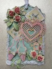 Valentine tag for Marci