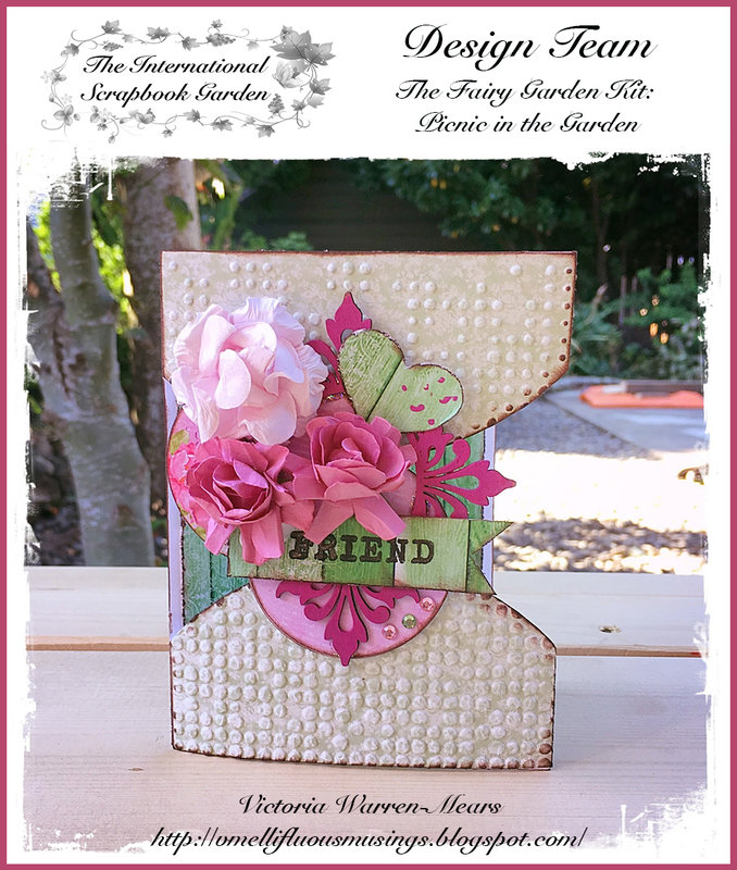 ISBG Fairy Garden Kit: Friend Card